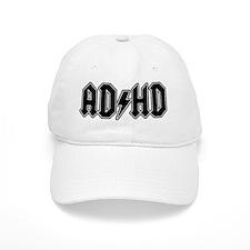 ADHD_bk_5x2_hat Baseball Cap