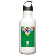 BIG BREAK panel print Water Bottle