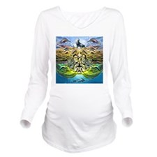 poseidonWatchingTopo Long Sleeve Maternity T-Shirt