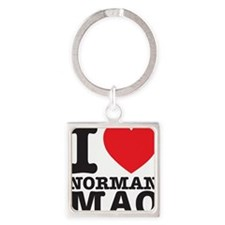 Mao T-shirt Square Keychain