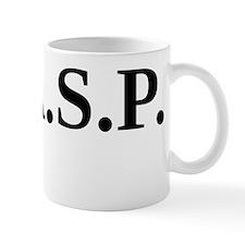 W.A.S.P. (black) Mug