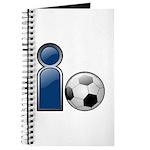 I Play Soccer - Blue Journal