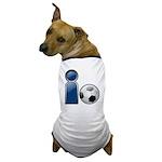 I Play Soccer - Blue Dog T-Shirt