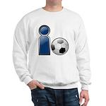 I Play Soccer - Blue Sweatshirt