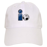 I Play Soccer - Blue Cap