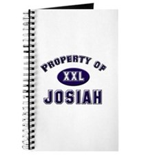 Property of josiah Journal