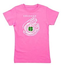 Boostgear St. Patricks Day Turbo Shirt Girl's Tee