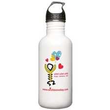 Love@WishboneDay Water Bottle