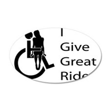 i-give-great-rides2 Wall Decal