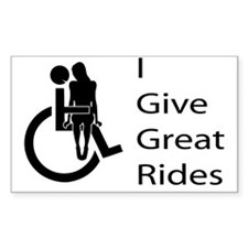 i-give-great-rides2 Decal