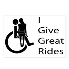 i-give-great-rides2 Postcards (Package of 8)