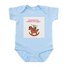 Grandma's Little Cowgirl Infant Bodysuit