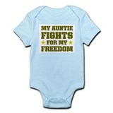 My Auntie Fights For Freedom Infant Bodysuit