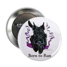 "Born to Run Scottie 2.25"" Button (10 pack)"