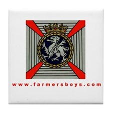 Cap Badge Coaster
