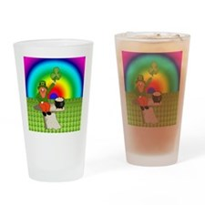 Leprechaun2 Drinking Glass