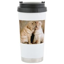 shar pei L print Travel Mug