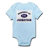 Property of johnathon Infant Bodysuit