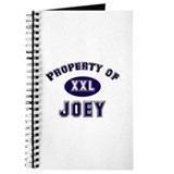 Property of joey Journal