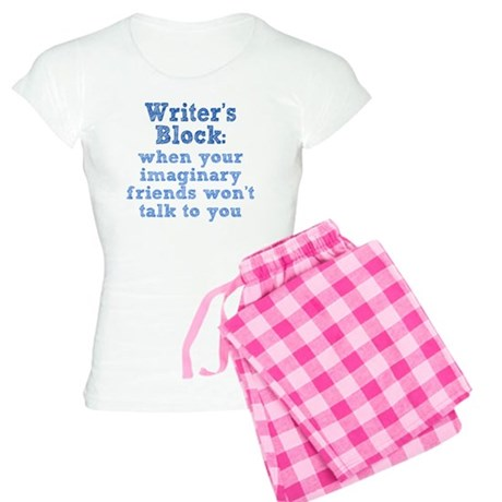 writers-block_rnd1 Women's Light Pajamas