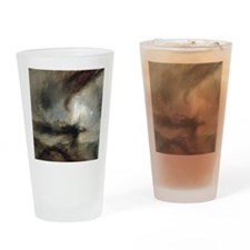 Snow Storm Steam Boat Drinking Glass