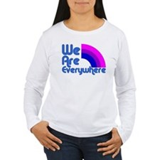 We Are Everywhere Bi Pride T-Shirt