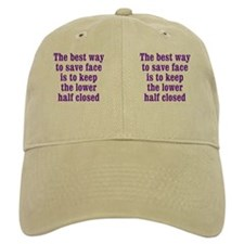 save-face_mug2 Baseball Cap