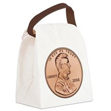 lincoln_penny_1000_01 request 200 Canvas Lunch Bag