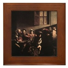 The Calling of Saint Matthew Framed Tile