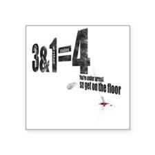 3-armed1 Square Sticker 3