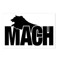 MachStickerSheltie Postcards (Package of 8)
