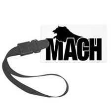 MachStickerSheltie Luggage Tag