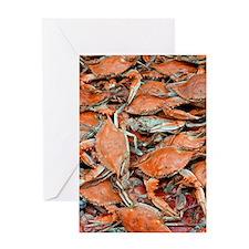 snow crabs (1) Greeting Card