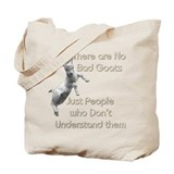 No Bad Goats Tote Bag