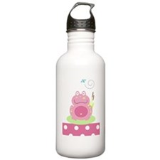 Fiona the Pink Pond Fr Water Bottle