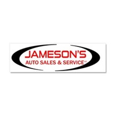 JAMESONS Car Magnet 10 x 3