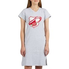 Rugby England English Rose Ball Women's Nightshirt