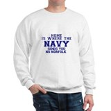 Cute Navy bases Sweatshirt