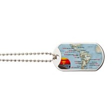 STAR SHIP VOYAGERS 2012 MAP Dog Tags
