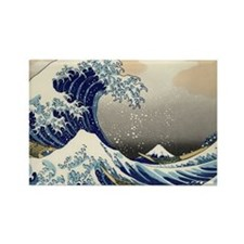 great-wave.travel Rectangle Magnet