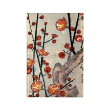 Blooming plum tree.p3 Rectangle Magnet