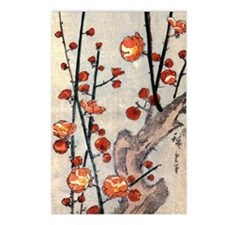 Blooming plum tree.p3 Postcards (Package of 8)
