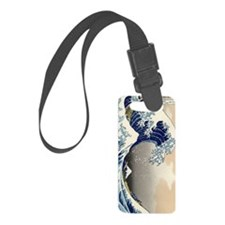 great-wave.p2 Luggage Tag
