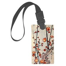 Blooming plum tree.p2 Luggage Tag