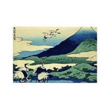 cranes-sagami.mouse Rectangle Magnet