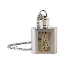 Wagtail.57 Flask Necklace