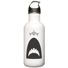 megashark_spoglio_bian Water Bottle