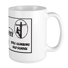 old linemen rule car tag 1 Coffee Mug