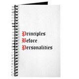 Principles Before Personalities Journal