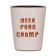 Beer Pong Champ 1 Shot Glass